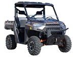 Super ATV Polaris Ranger XP 900 Half Windshield