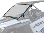 Super ATV Polaris RZR PRO XP Scratch Resistant Full Windshield