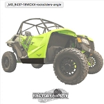Factory UTV Textron Wildcat XX 1/2 Inch Rock Sliders