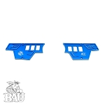BAU POLARIS RZR XP 1000 UPPER DASH PLATE - 6 SWITCH HOLES