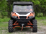Super ATV Polaris General Scratch Resistant Vented Full Windshield